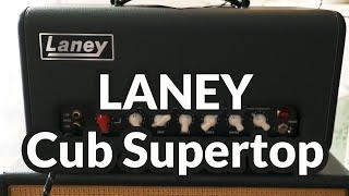 Laney Cub Supertop Head Demo (no talking)