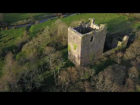 A Classic Irish Fortified Tower House - Kilcrea Castle, Ovens, Co Cork, Ireland -