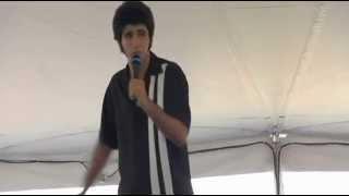 Elvis Tribute Artist Josh Davis sings Cant Help Falling In Love Elvis Week (video)