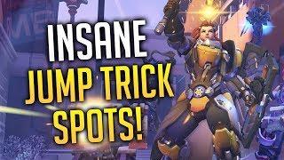 Overwatch - New INSANE Brigitte Jump Trick Spots!