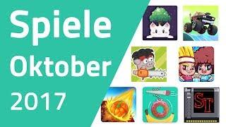 Top Spiele für Android & iOS - Oktober 2017