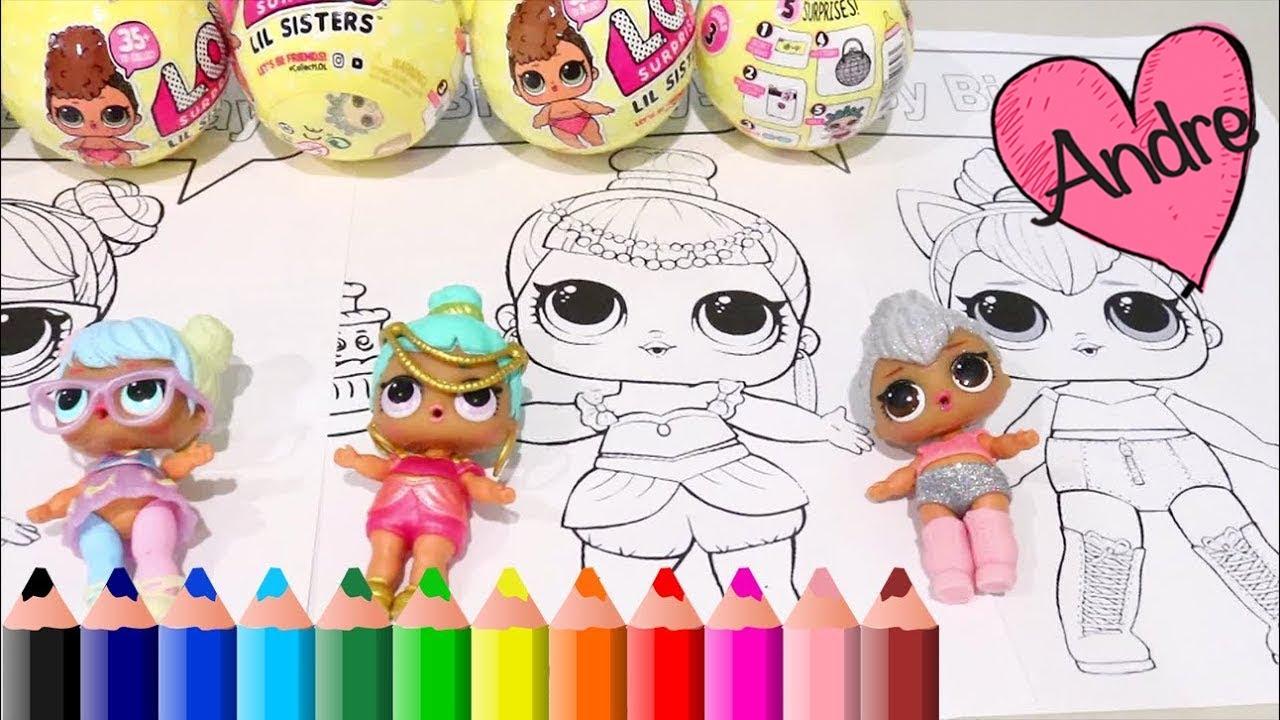 Dibujos Para Colorear De Munecas L O L Surprise Juguetes Con