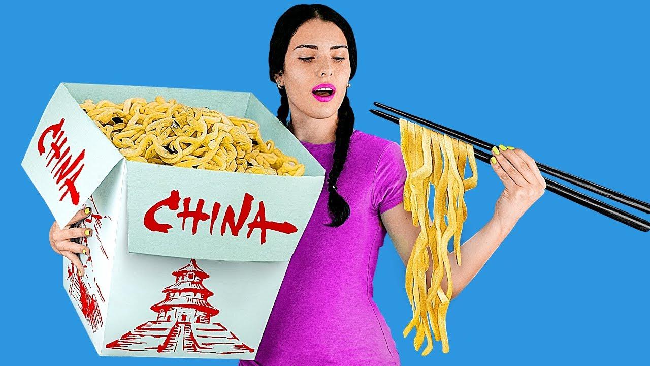 7 DIY Giant Food vs Miniature Food / Funny Pranks!
