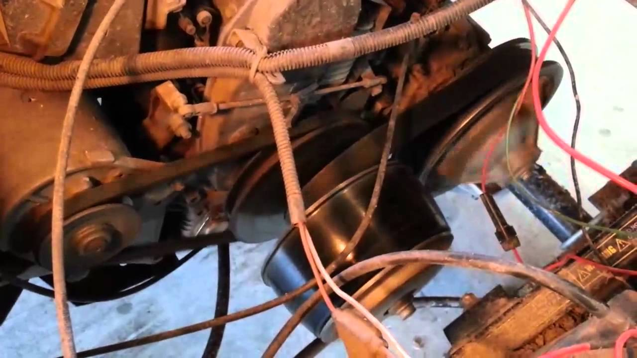 Retiring the EZGO TXT's original Robin 295cc, 9hp twin