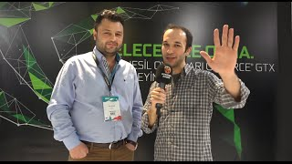 Gaming İstanbul 2016 - Nvidia Röportajı