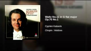 Waltz No.11 in G flat major Op.70 No.1