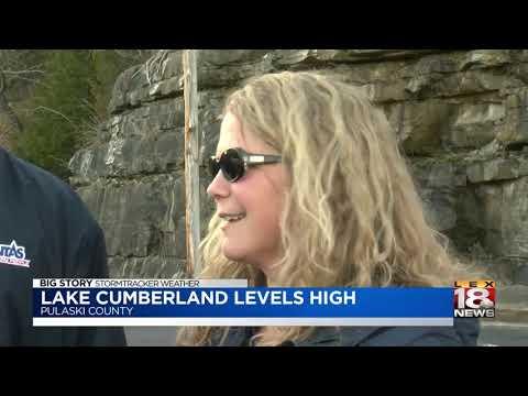 Lake Cumberland Levels High