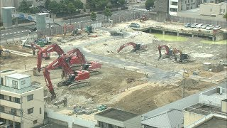 旧香川県立中央病院の跡地 浜田知事「まずは公共利用を検討」