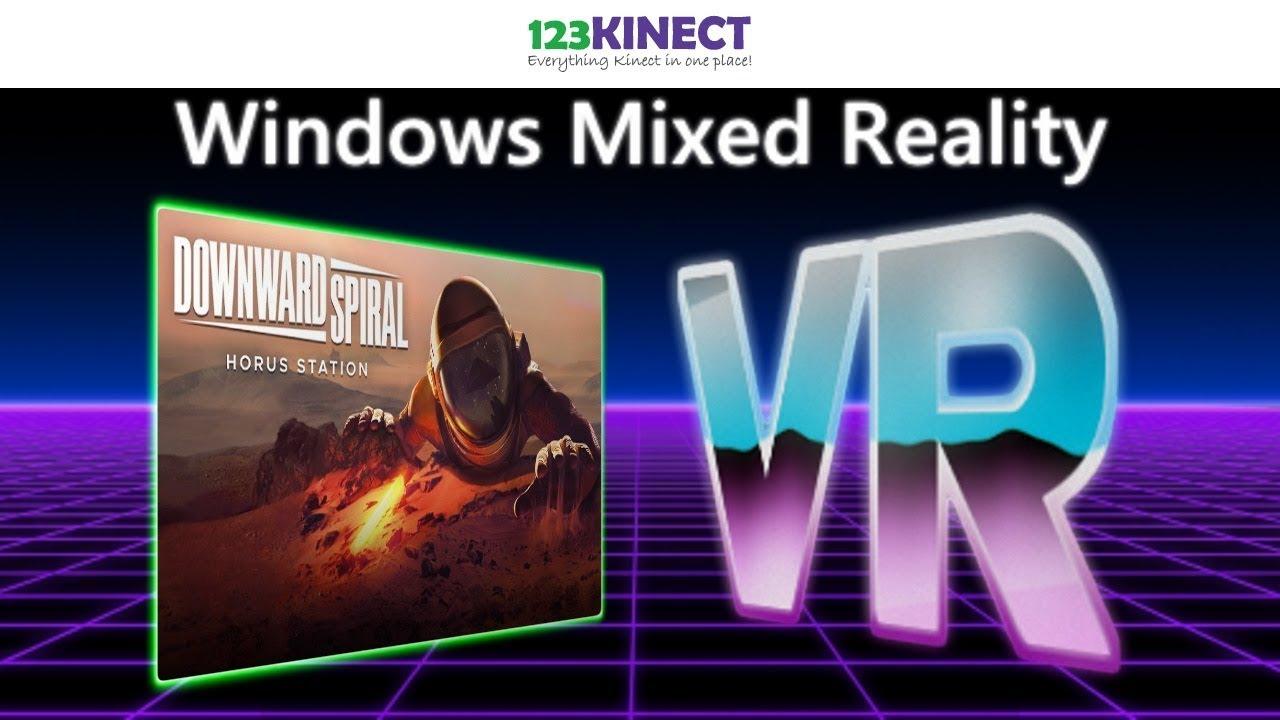 Downward Spiral: Horus Station Trailer - Windows MR VR Sci-Fi Game - YouTube