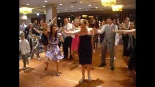 wedding flash mob lmfao party rock in chicago