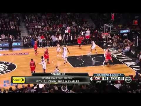Joakim Noah Full Highlights 2013 Playoffs R1G7 at Nets   24 Pts, 14 Rebs, 6 Blks