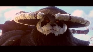 Kung-Fu Panda in Mists of Pandaria