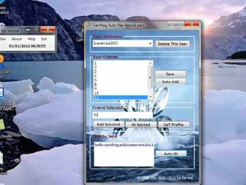 Camfrog tools Ice service.mp4