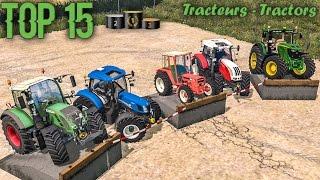 Farming Simulator 15 - TOP 15 - Tracteurs/Tractors