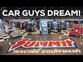 CAR GUYS DREAM! - SUMMIT RACING RETAIL STORE - Arlington,Tx