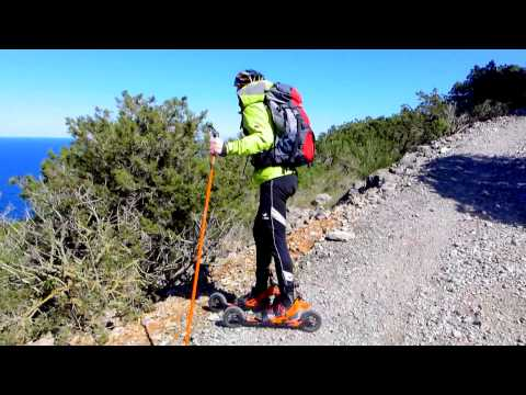 Skike, the original cross skates. Cross-country nordic skiing in summer and winter!