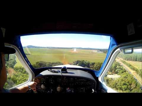 LANDING ALBANY AIRPORT WEST AUSTRALIA