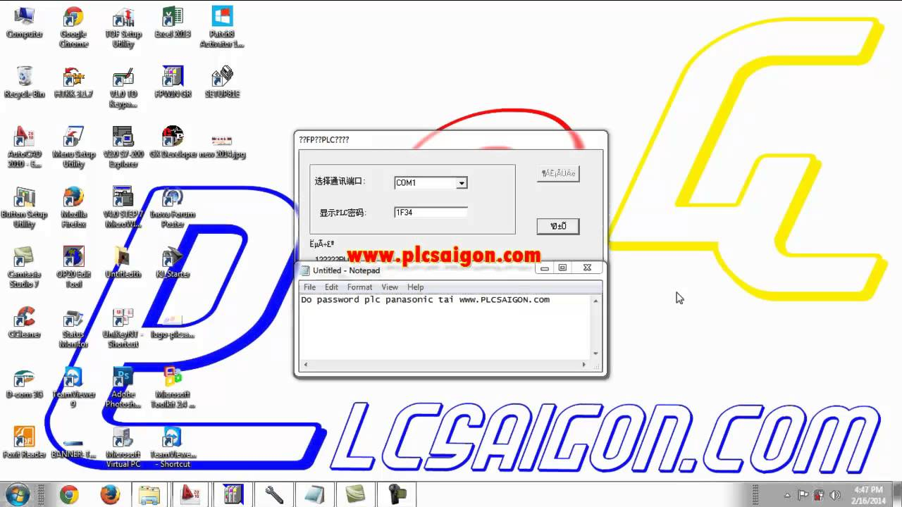 Mở Password Plc Nais Mitsubishi Delta Omron Youtube