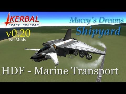 KSP Shipyard - Marine Transport