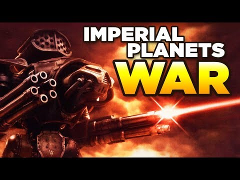 PLANETS of the IMPERIUM - WAR | The fall of CADIA | WARHAMMER 40,000 Lore / History