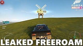 Forza Horizon 4: NEW FREEROAM GAMEPLAY LEAKED ON MICROSOFT STORE!!
