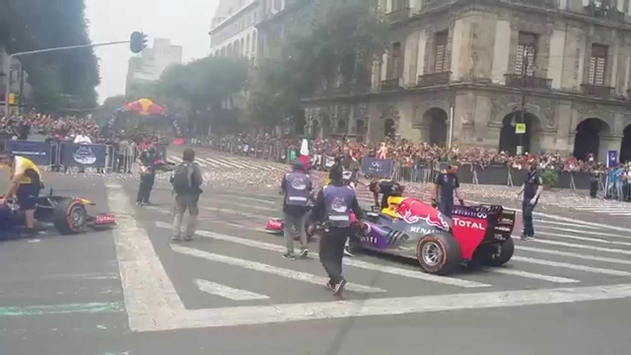 Download F1 Mexico Zocalo 2015 Red bull GRAN FINAL HD
