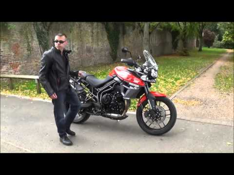 riding the triumph tiger 800 xrt youtube. Black Bedroom Furniture Sets. Home Design Ideas