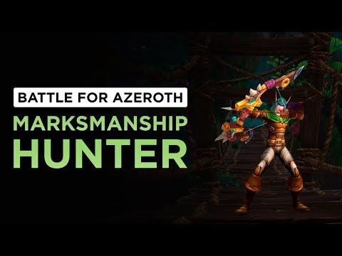 Marksmanship Hunter   WoW: Battle for Azeroth - Alpha [1st Pass]