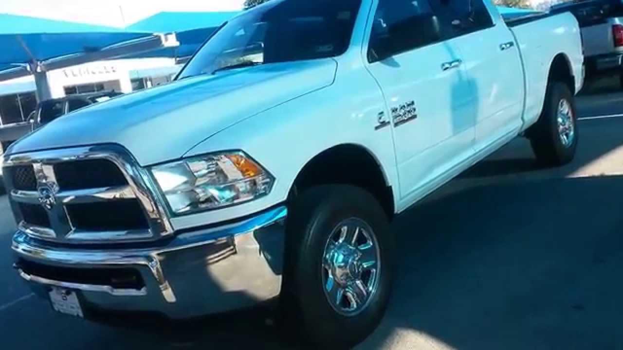 37 994 White 2014 Ram 2500 Slt Truck Crew Cab 4x4 Youtube