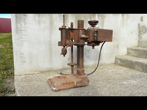 Restoring a Drill Press