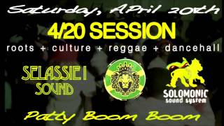 420 Session @ Patty Boom Boom