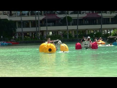 Duke Kahanamoku Lagoon Hilton Hawaiian Village Honolulu Hawaii