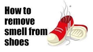 How to remove smell from shoes