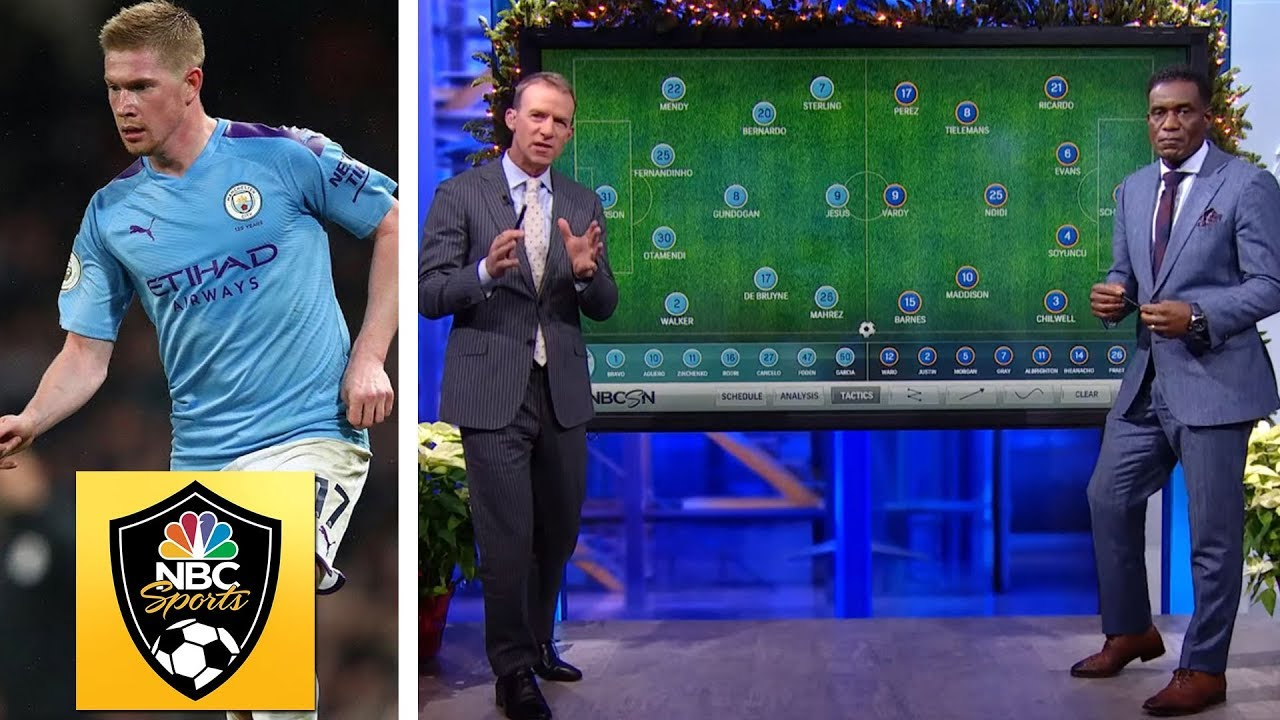 How Manchester City dominated Leicester City   Premier League Tactics Session   NBC Sports