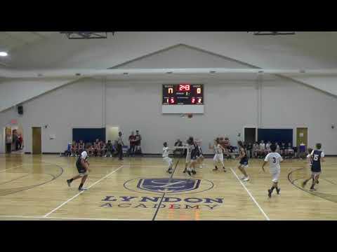TKA JV vs  Lyndon Academy 1st HALF 11 16 17