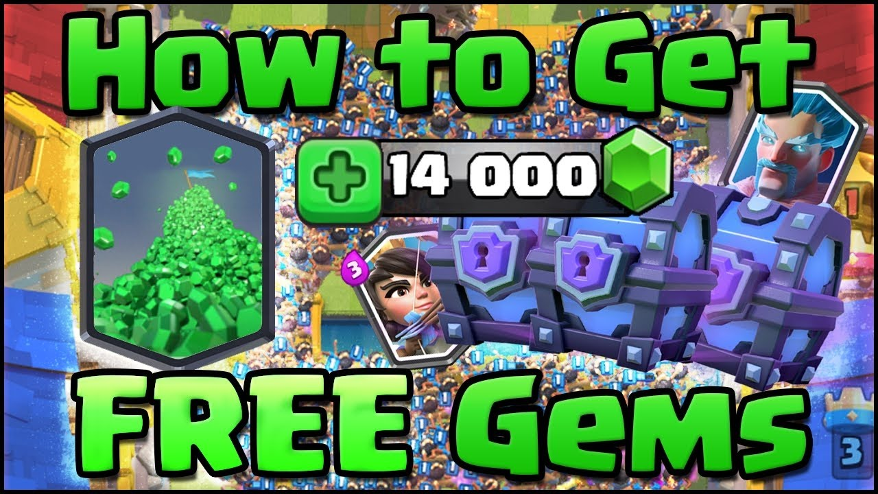 How To Hack Clash of Royale | Free Gems 100% working trick ...