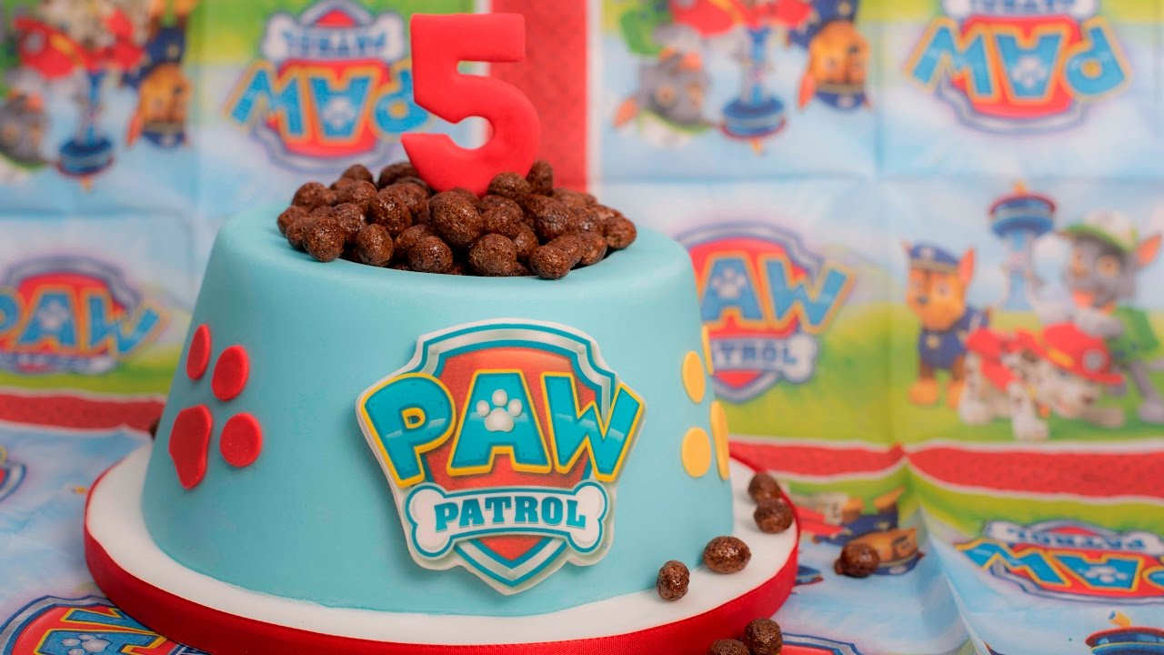 Paw Patrol Torte Anleitung Motivtorte Youtube