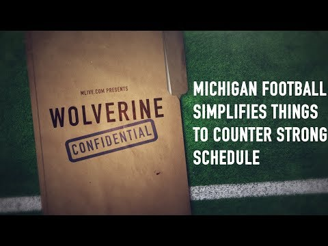 How making things simple could solve a hard schedule for Michigan football