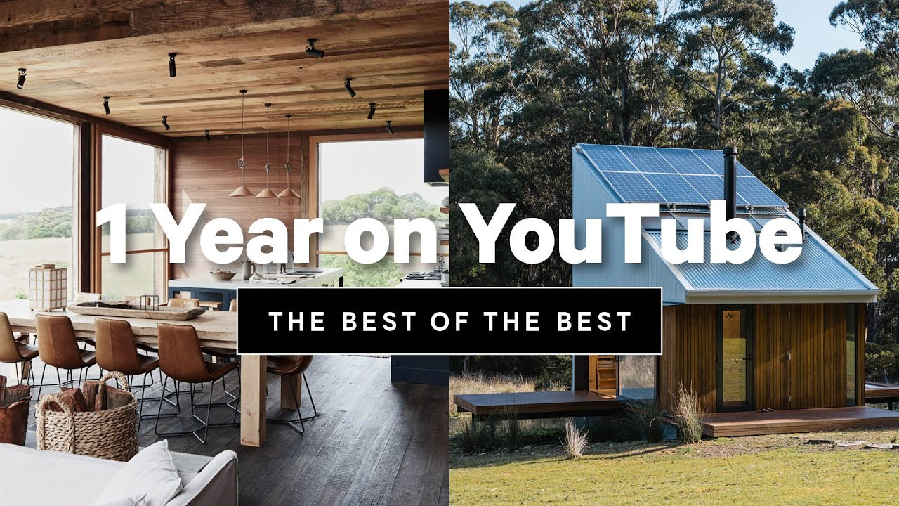 1 Year (in 12 mins!) 💯 From Multi Million $ Homes to Tiny Eco Cabins & More. Our 1st Year on Youtube
