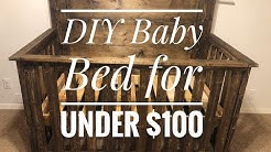 DIY Baby Crib under $100