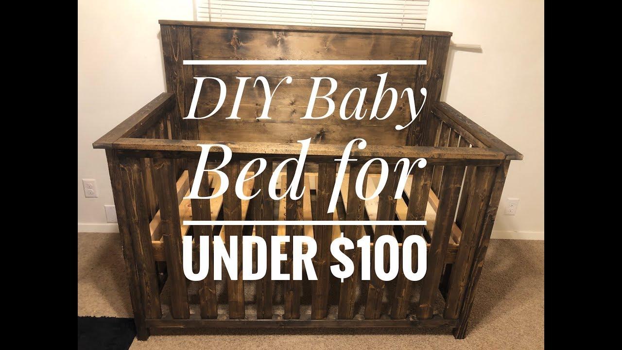 DIY Baby Crib under $100 - YouTube