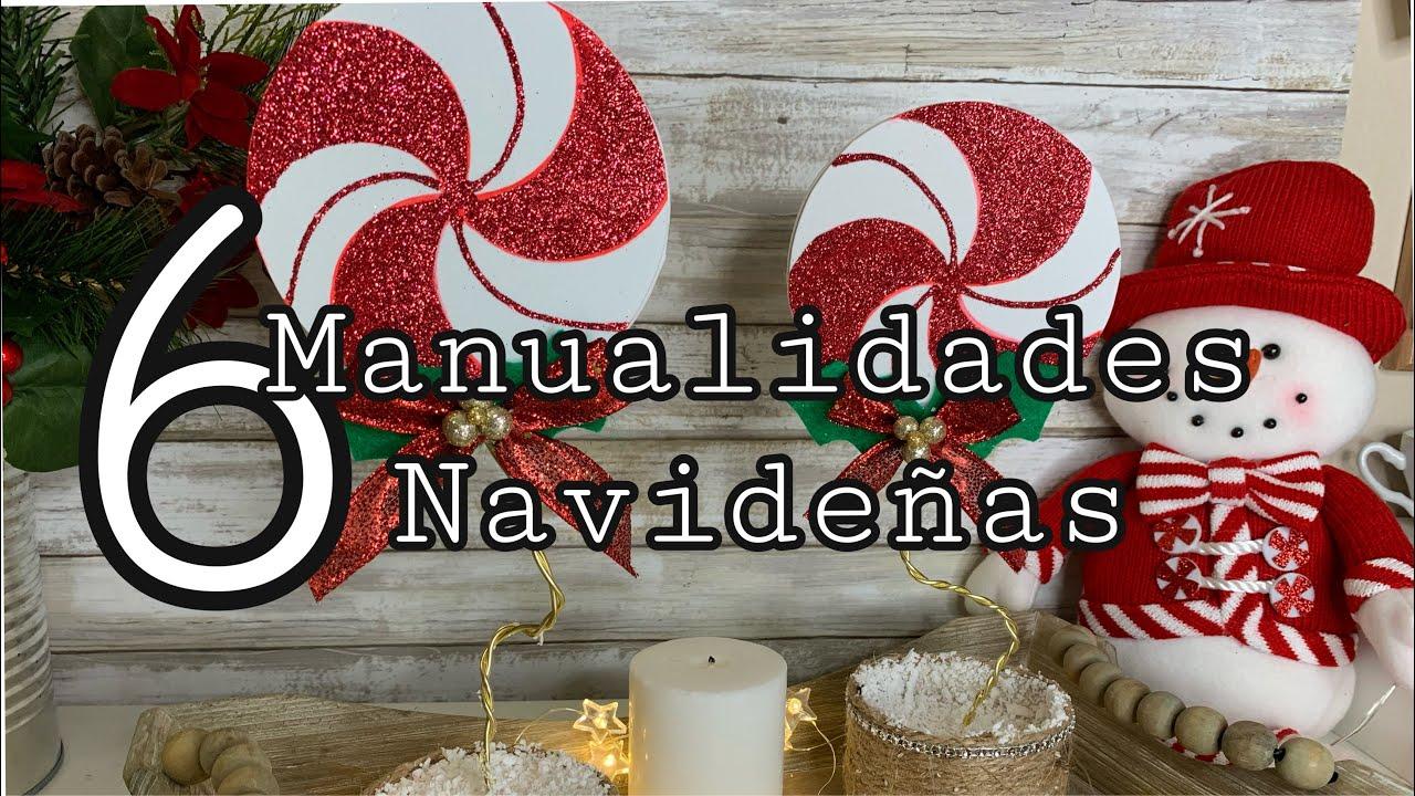 6 MANUALIDADES NAVIDEÑAS 2020 🎅 Christmas Decorations🎄DIY Especial de Natal