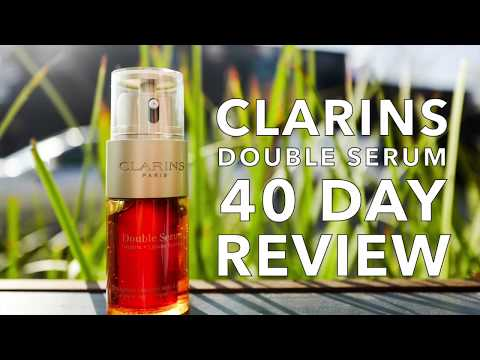 Clarins Double Serum 40 Day Review
