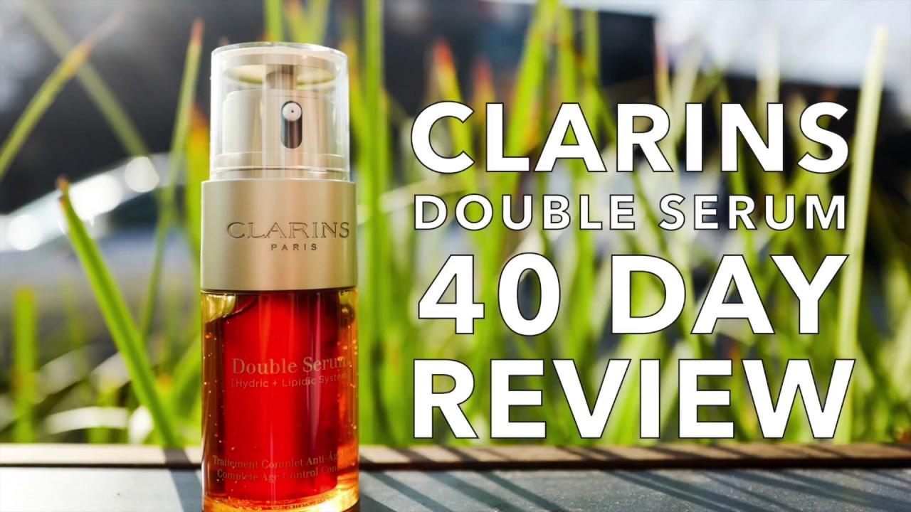 clarins double serum recension