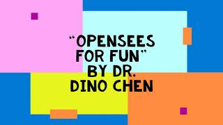 OSG-18 with Dr. Dino Chen on OpenSEES for fun