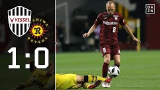 Andres Iniesta zaubert bei Startelf-Debüt: Kobe - Reysol 1:0 | Highlights | J-League | DAZN