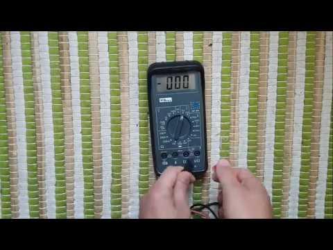 tester une prise de courant domestique 230v avec un multimètre