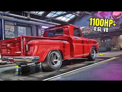 Need For Speed Heat Gameplay - 1100HP+ CHEVROLET C10 STEPSIDE PICKUP '65 Customization | Max Build