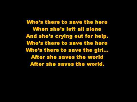 Save the Hero- Beyonce   lyrics