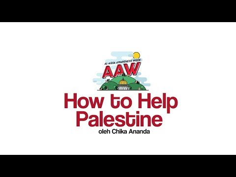 AAW 2017 : How to Help Palestine